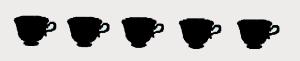 5 tazze buo