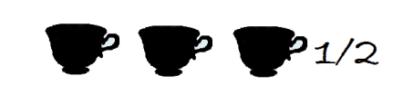 3 tazze buo