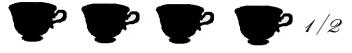 4 tazze buo