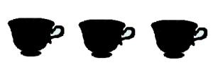 3 tazze buono